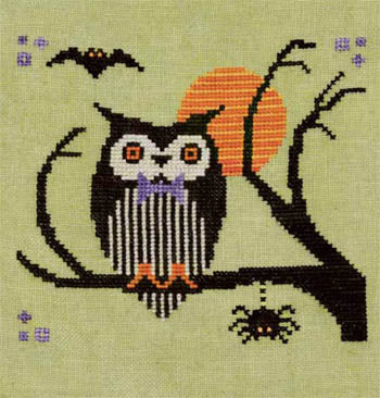 Artful Offerings, Hoot Owl Halloween, Needles and Things