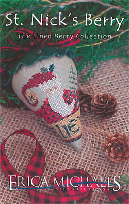 Erica Michaels, St. Nick's Berry - Linen, Needles and Things