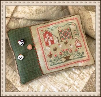 Little House Needleworks, Rooster And the Hens, Needles and Things