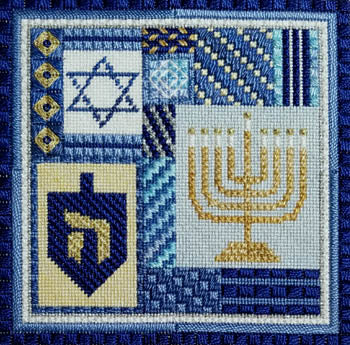 Needle Delights Originals, Holiday Delights - Hanukkah, Needles and Things