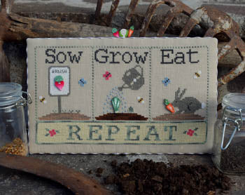 Puntini Puntini, Sow, Grow, Eat (w/buttons), Needles and Things