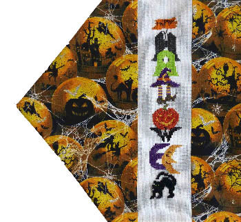Stitchworks The, Seasonal Table Runners - Halloween, Needles and Things