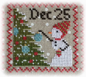 Annie Beez Folk Art, Snowy - 8, Needles and Things