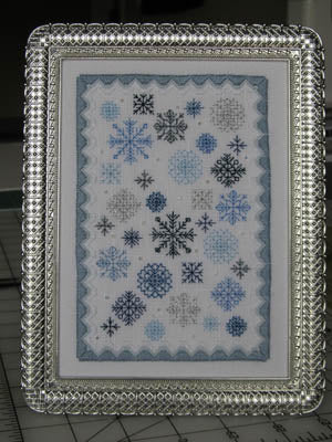 Terri Bay Needlework Designs, Winter Garden, Needles and Things