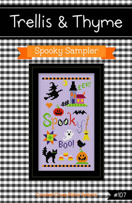 Trellis & Thyme, Spooky Sampler, Needles and Things