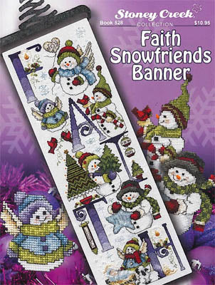 Stoney Creek Collection, Faith Snowfriends Banner, Needles and Things