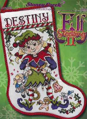 Stoney Creek Collection, Elf Stocking II, Needles and Things