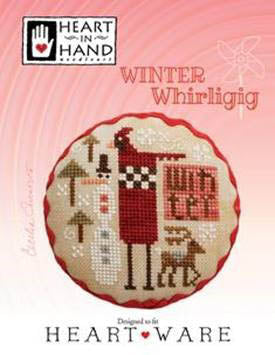 Heart In Hand Needleart, Winter Whirligig, Needles and Things