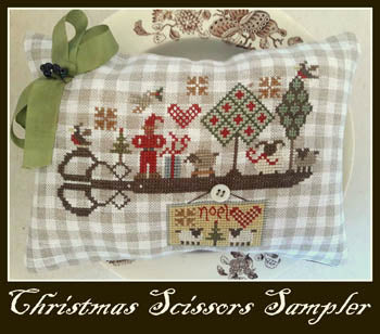 Nikyscreations, Christmas Scissors Sampler, Needles and Things