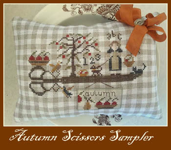 Nikyscreations, Autumn Scissors Sampler, Needles and Things