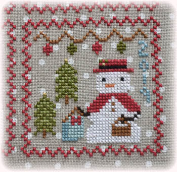 Annie Beez Folk Art, Snowy - 9, Needles and Things
