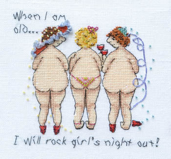 When I Am Old I Will Rock Girls Night Out