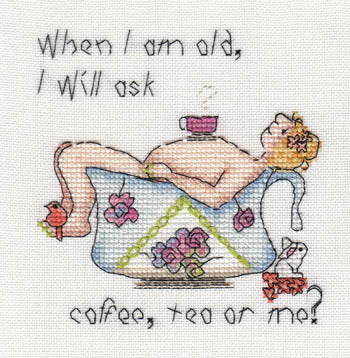 When I Am Old I Will Ask Coffee, Tea or Me?