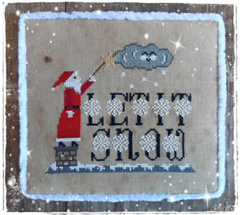 Let It Snow (gold thread included)