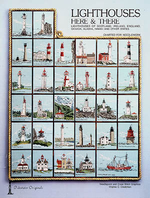 Tidewater Originals, Lighthouses Here & There, Needles and Things