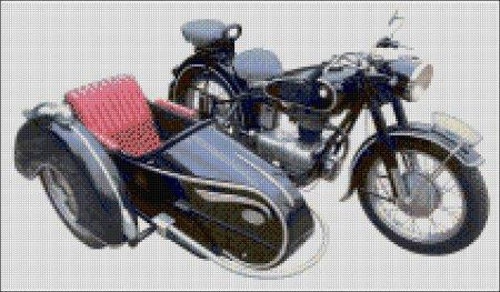 Motorbike and Sidecar Design