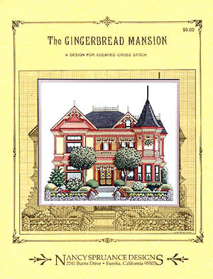 Nancy Spruance Designs, Gingerbread Mansion, Needles and Things