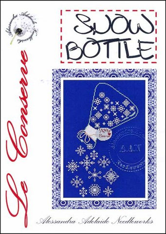 Alessandra Patterns, Snow Bottle, Needles and Things