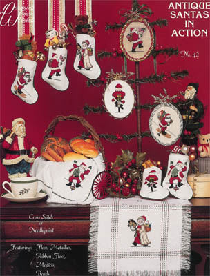 Designing Women, Antique Santas In Action, Needles and Things