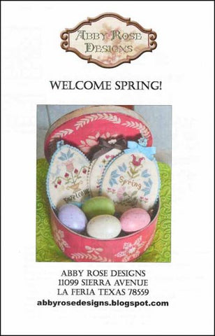 Abby Rose Designs, Welcome Spring!, Needles and Things
