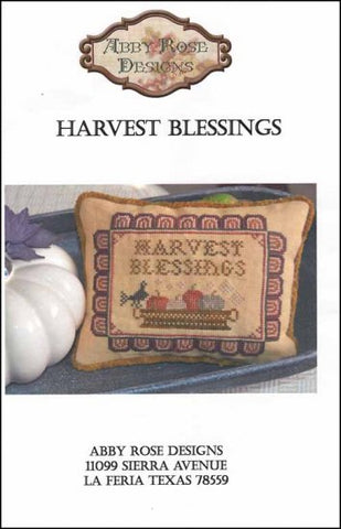 Abby Rose Designs, Harvest Blessings, Needles and Things