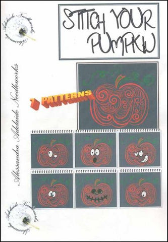 Alessandra Patterns, Stitch Your Pumpkin, Needles and Things