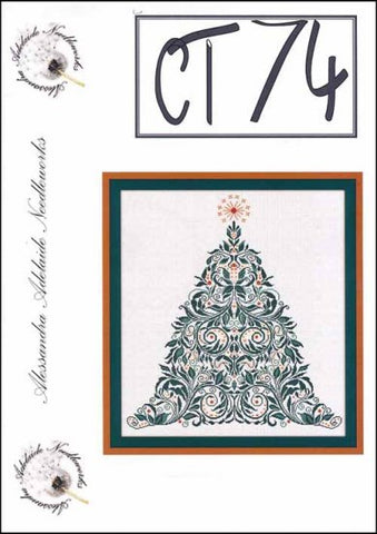 Alessandra Patterns, CT 74 (Christmas Tree), Needles and Things