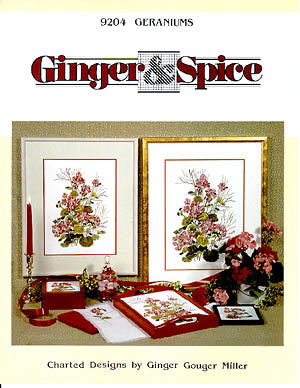 Ginger & Spice, Geraniums, Needles and Things