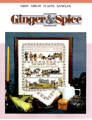 Ginger & Spice, Great Plains Sampler, Needles and Things