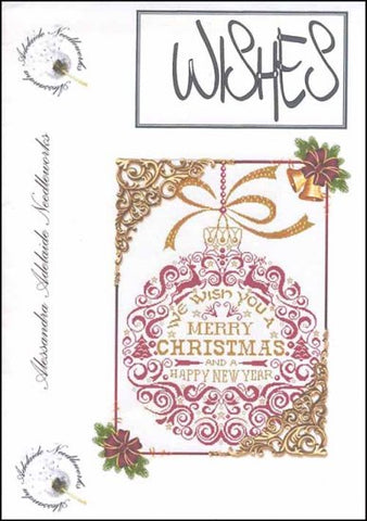 Alessandra Patterns, Wishes Ornament, Needles and Things