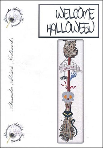 Alessandra Patterns, Welcome Halloween, Needles and Things