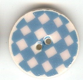 Sweetwater Buttons, Blue Checker, Needles and Things