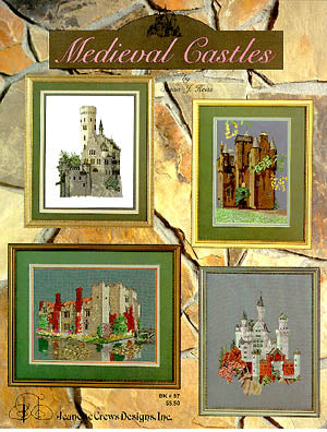 Jeanette Crews Designs, Medieval Castles, Needles and Things