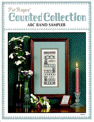 Pat Roger's Counted Coll, ABC Band Sampler, Needles and Things