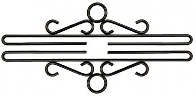 Wrought Iron Bell Pull