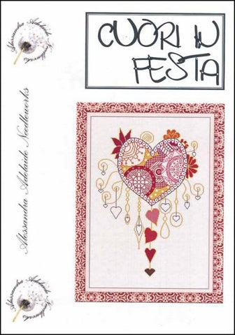 Alessandra Patterns, Cuori In Festa, Needles and Things