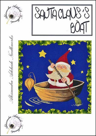 Alessandra Patterns, Santa Claus's Boat, Needles and Things
