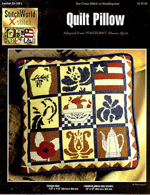 StitchWorld Inc., Quilt Pillow, Needles and Things