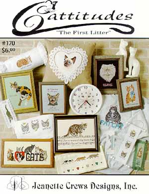 Jeanette Crews Designs, First Litter (Cattitudes), Needles and Things