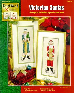 StitchWorld Inc., Victorian Santas, Needles and Things