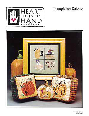 Heart In Hand Needleart, Pumpkins Galore, Needles and Things