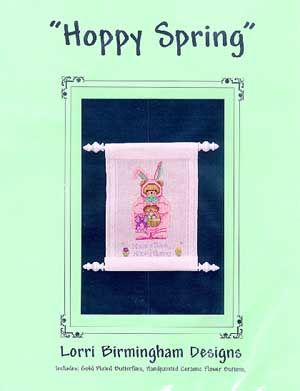 Lorri Birmingham Designs, Hoppy Spring, Needles and Things