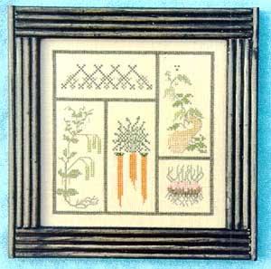 Cedar Hill Designs, Vegetable Patch, Needles and Things