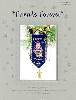 Lorri Birmingham Designs, Friends Forever (Santa & Snowman), Needles and Things