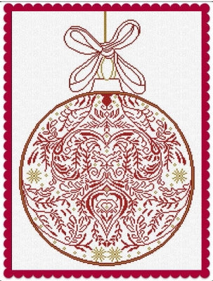 Alessandra Patterns, 2016 Christmas Ornament, Needles and Things