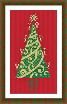 Alessandra Adelaide Needleworks, Special Christmas Tree - 2019 - Limited Edition, Needles and Things