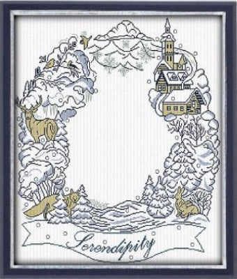 Alessandra Adelaide Needleworks, Winter Serenditity, Needles and Things