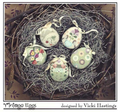 Cricket Collection, Vintage Eggs (5 designs), Needles and Things
