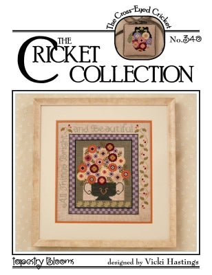 Cricket Collection, Tapestry Blooms, Needles and Things