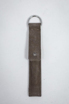 Scissors Sheath, Scissors Sheath - Taupe Leather, Needles and Things